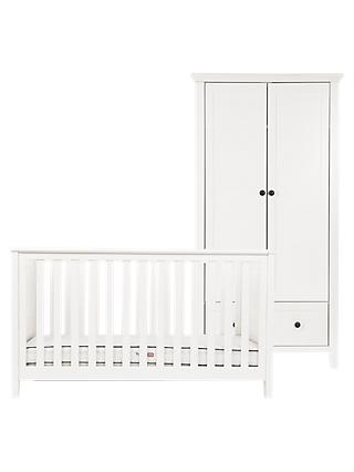 Silver Cross Nostalgia Cotbed and Wardrobe, Ivory
