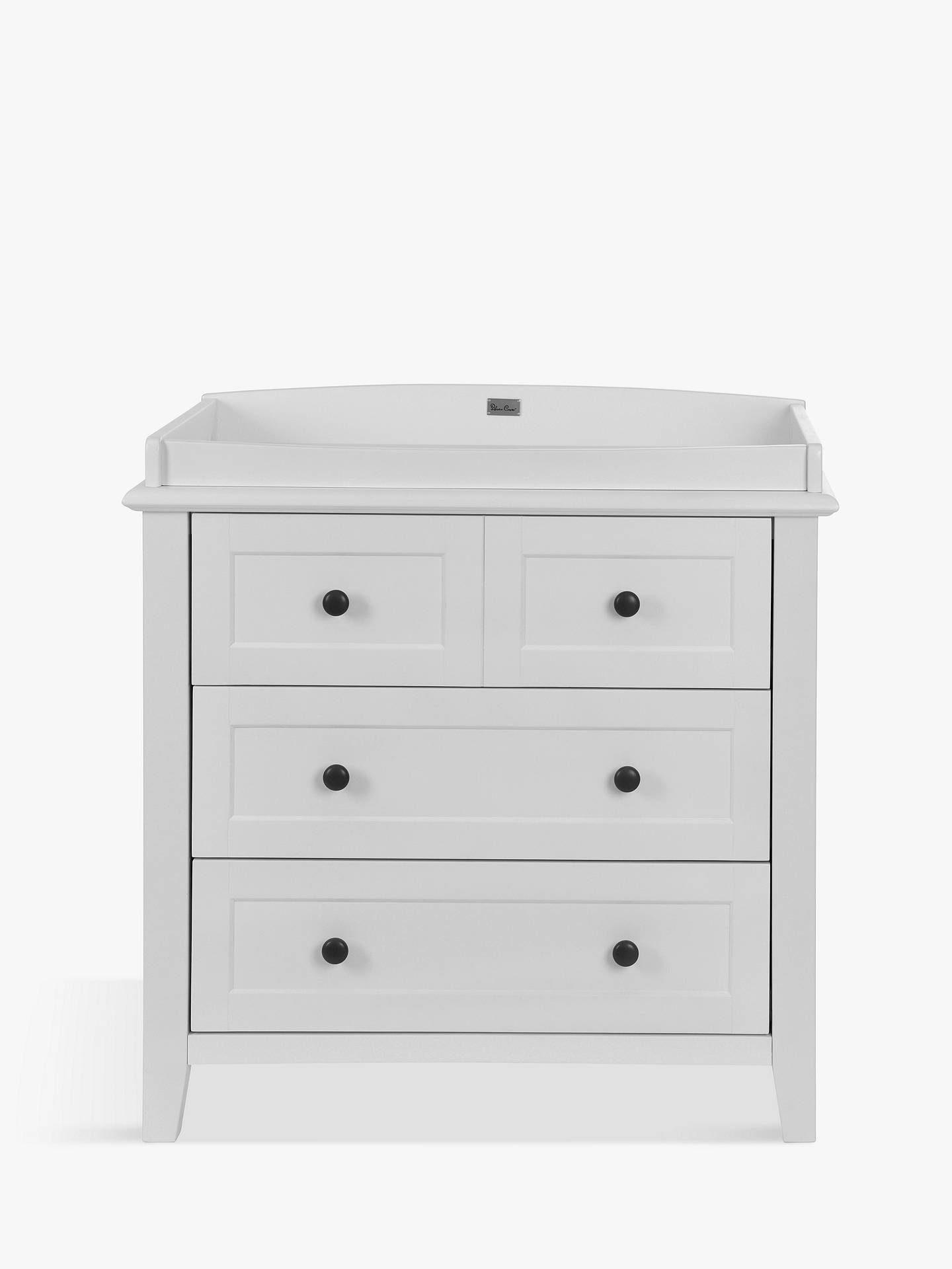 Buy Silver Cross Nostalgia Cotbed, Dresser and Wardrobe, Dove Grey Online at johnlewis.com