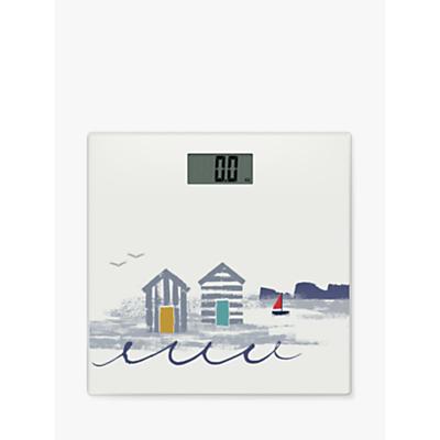 John Lewis & Partners Beach Hut Bathroom Scales
