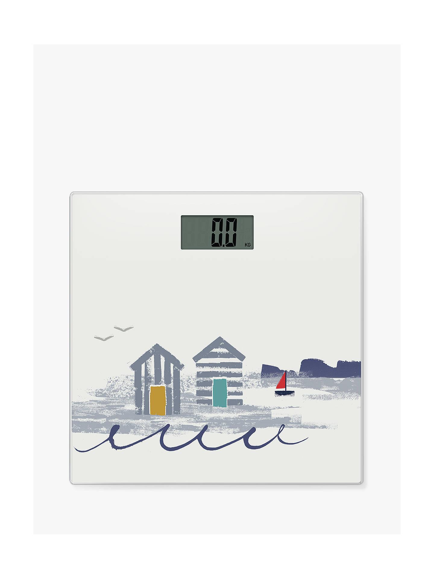 John Lewis Partners Beach Hut Bathroom Scales At John Lewis Partners