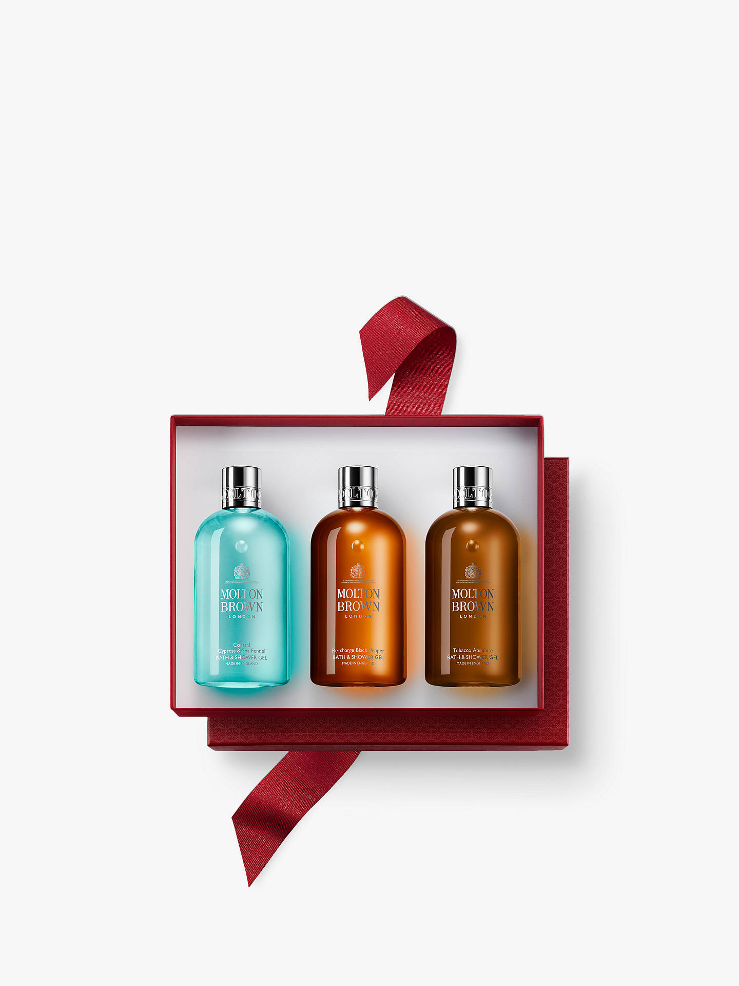 BuyMolton Brown Adventurous Experiences Men Gel Trio Body Care Gift Set Online at johnlewis.com