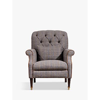 Tetrad Flynn Armchair with Brompton Leather Trim