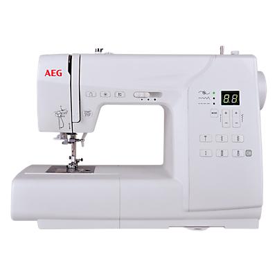 Image of AEG 63Z Sewing Machine, White