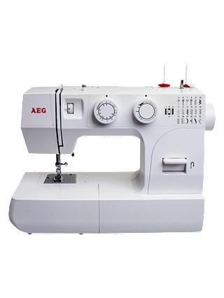 Buy AEG 14K Sewing Machine, White Online at johnlewis.com