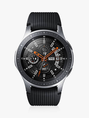 Buy Samsung Galaxy Watch, 46mm, Silver / Black Online at johnlewis.com