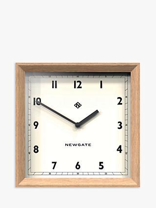 aaf4abb16eb9 Newgate Old Joe Wood Case Square Wall Clock