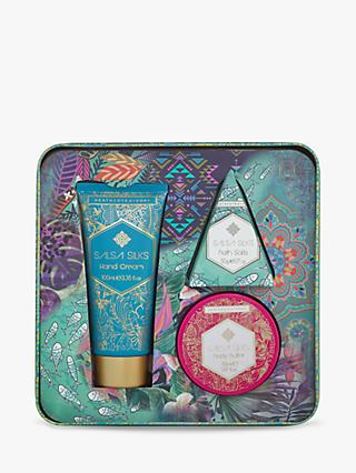 Heathcote & Ivory Salsa Silks Exquisite Spa Body Care Gift Set