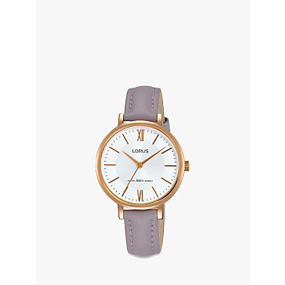 Lorus Women's Leather Strap Watch