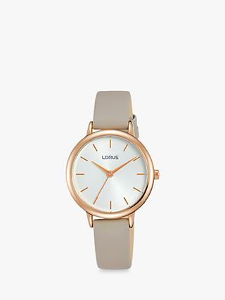 Lorus Women's Leather Strap Watch