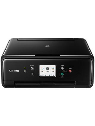 Canon PIXMA TS6250 All-in-One Wireless Wi-Fi Printer with Touch Screen, Black