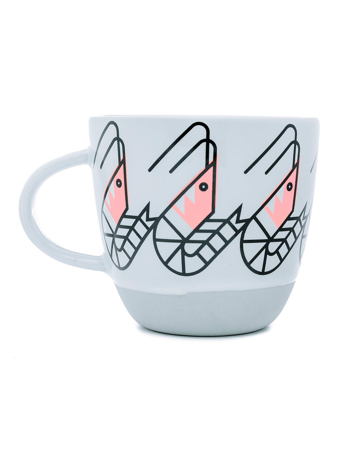 BuyBert & Buoy Shrimp Mug, White/Multi, 330ml Online at johnlewis.com