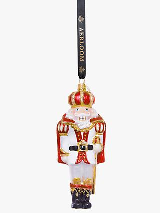Aerloom Nutcracker Bauble, Red
