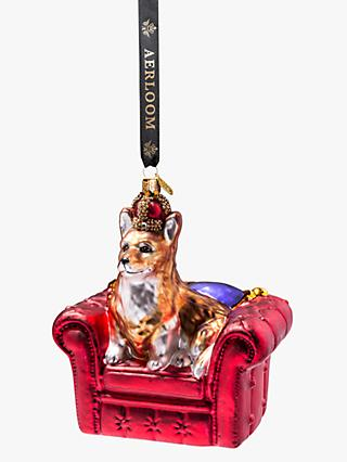 Aerloom Royal Corgi  Bauble, Multi