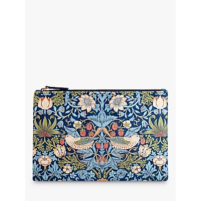 Morris & Co. Velvet Clutch Bag, Large