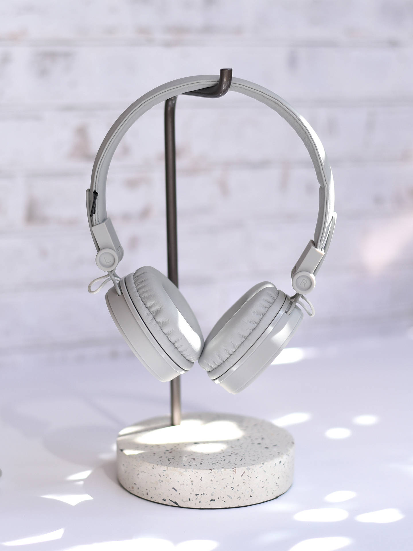 Buy Stackers Metal Headphone Stand, Brown Online at johnlewis.com