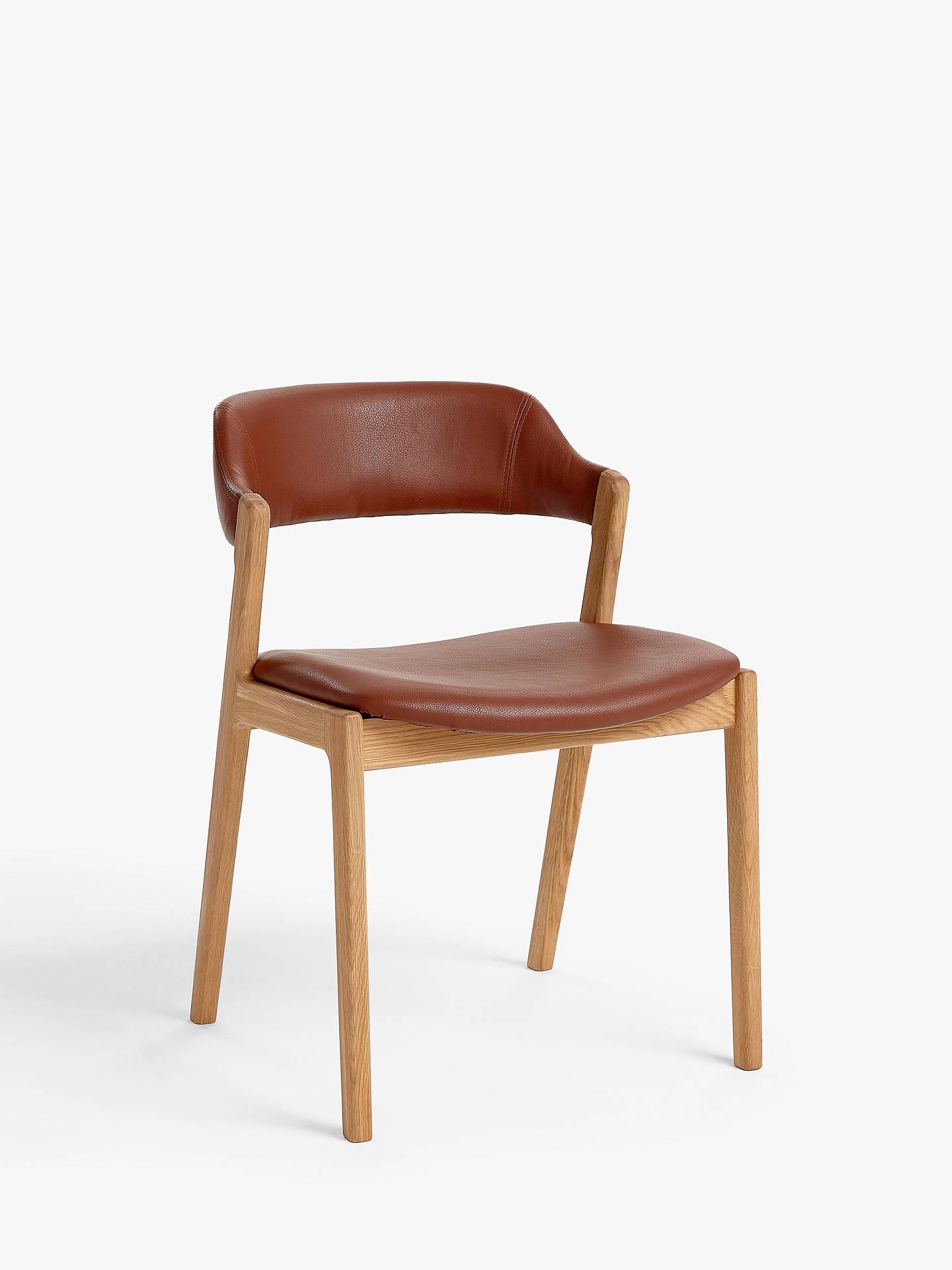 Amazing John Lewis Partners Santino Dining Chair Tan Oak Ibusinesslaw Wood Chair Design Ideas Ibusinesslaworg