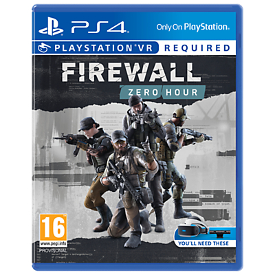 Image of Firewall Zero Hour VR, PS4