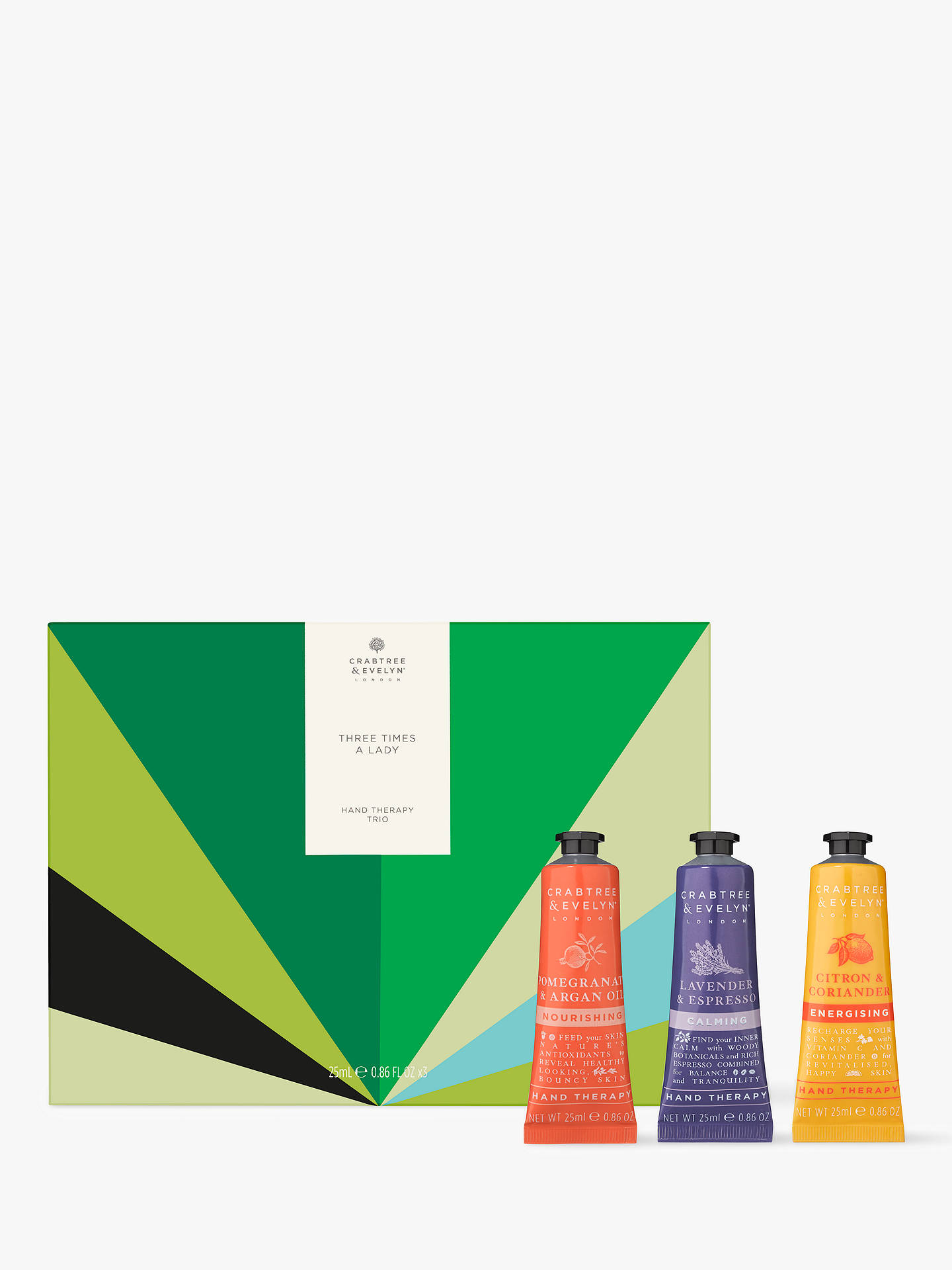 022708b31dab Buy Crabtree & Evelyn Three Times A Lady Gift Set Online at johnlewis. ...