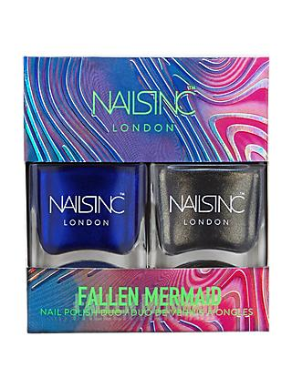 Nails Inc Fallen Mermaid Nail Polish Duo