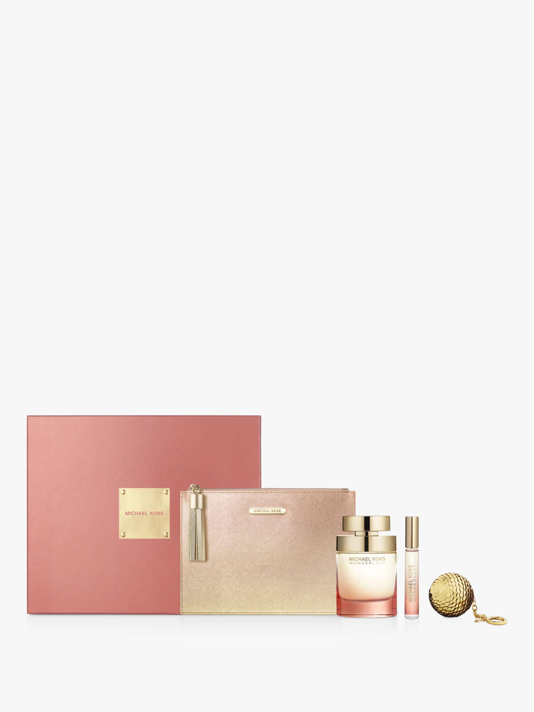dac9bbf74310 Michael Kors Wonderlust Eau de Parfum 100ml Gift Set at John Lewis    Partners
