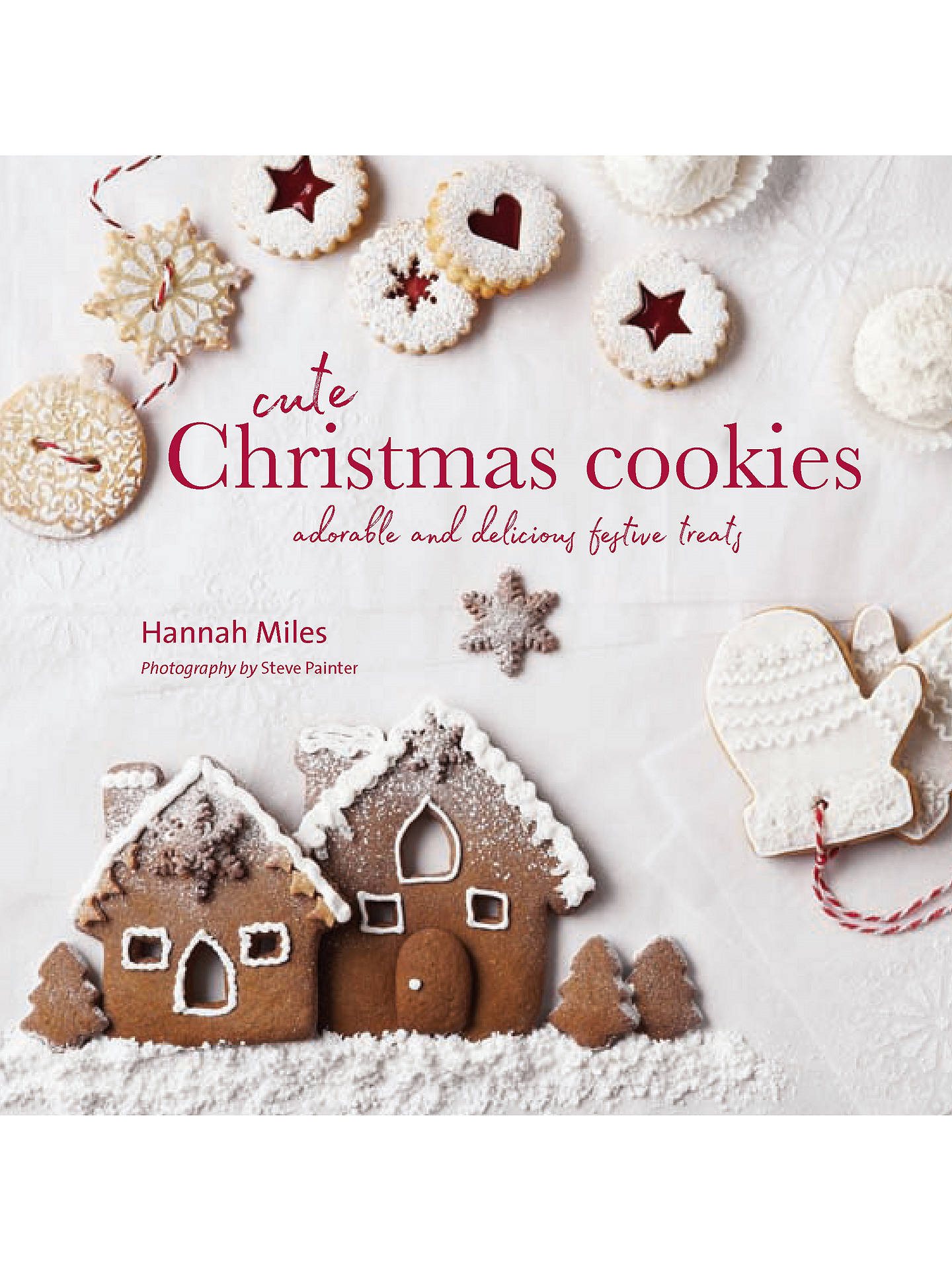 Cute Christmas Cookies Recipe Book At John Lewis Partners