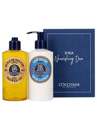 L'Occitane Shea Nourishing Duo Skincare Gift Set