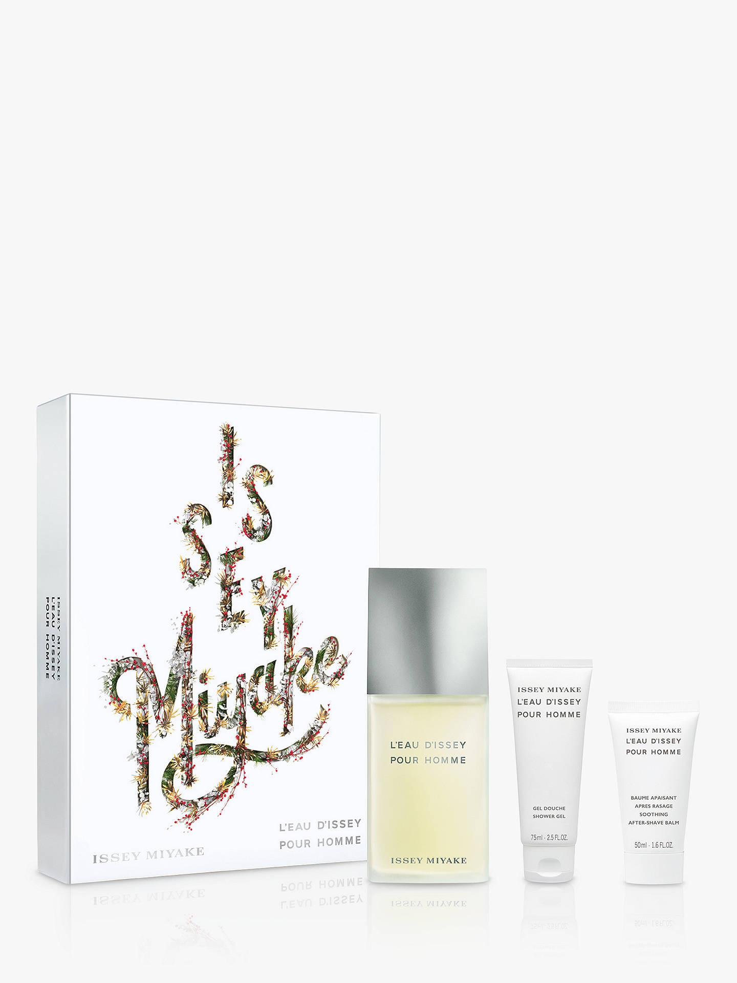 d32f3037accf Issey Miyake L Eau d Issey Pour Homme Eau de Toilette 125ml Gift Set ...