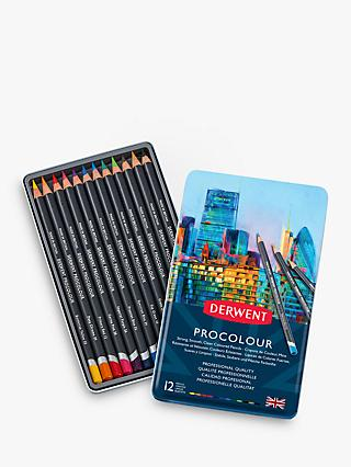 Derwent Procolour Pencil Tin, Set of 12