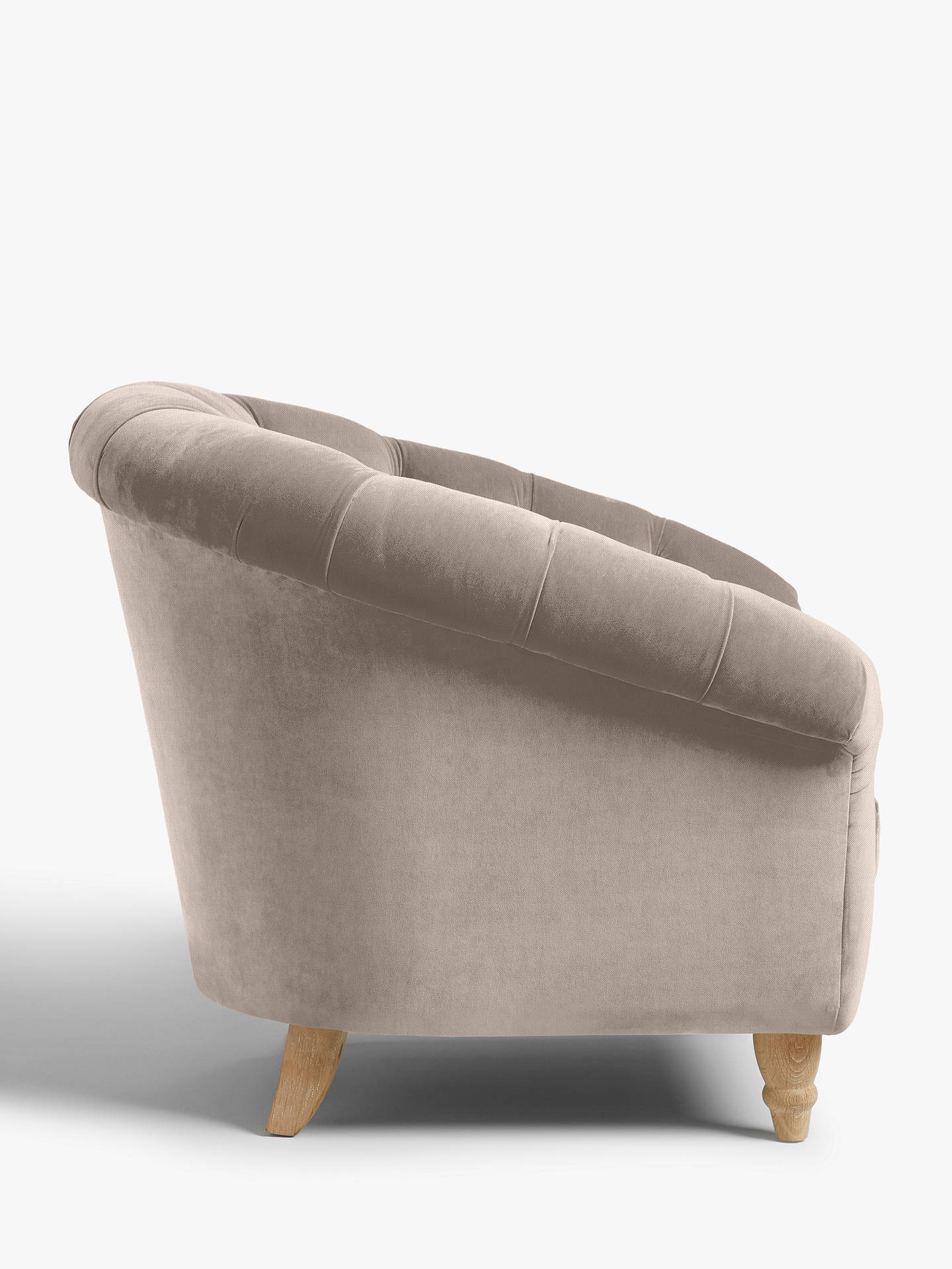 Buy Cupcake Armchair by Loaf at John Lewis, Brushed Cotton Wolf Online at johnlewis.com
