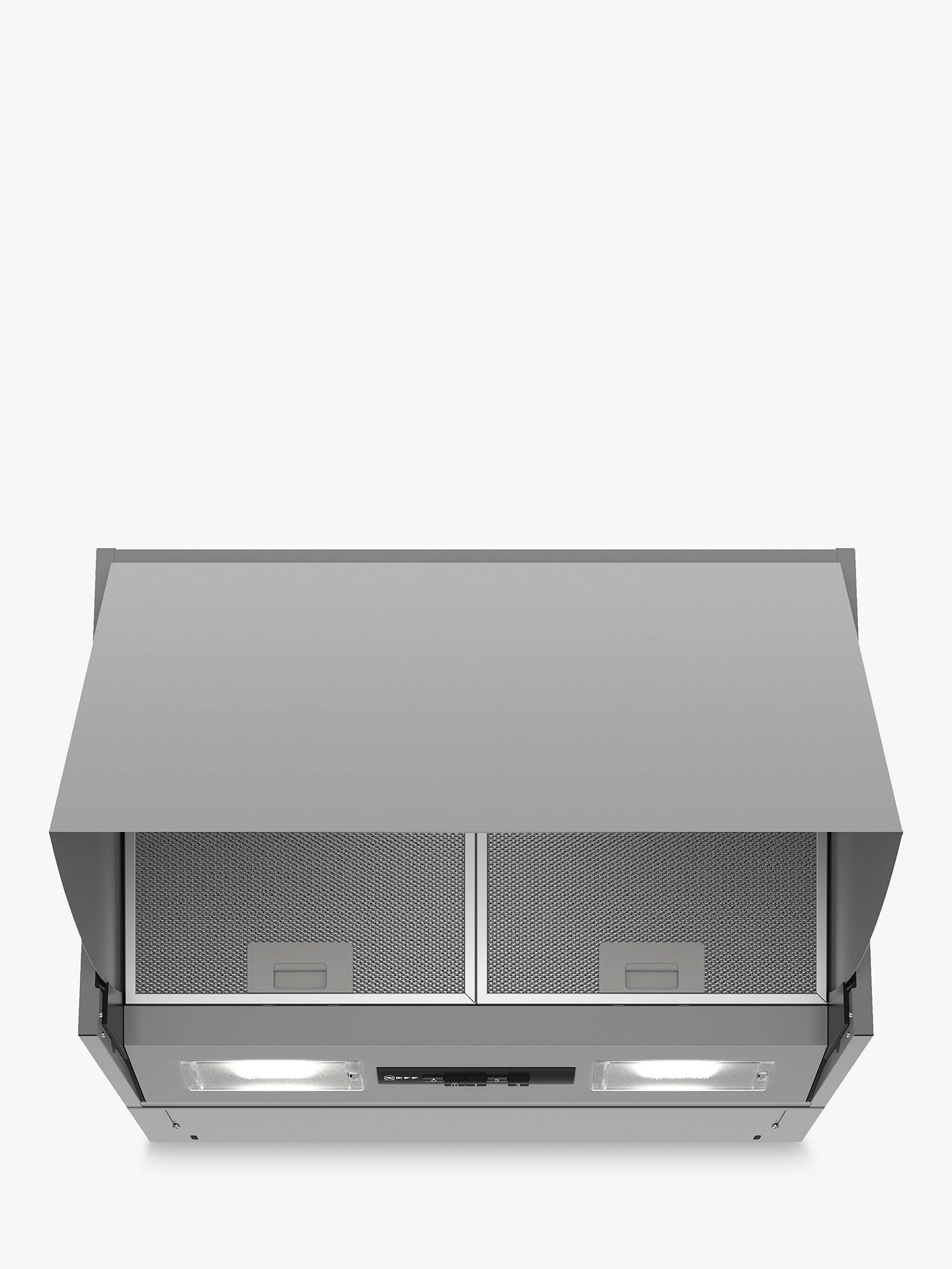 Buy Neff D64MAC1X0B Integrated Cooker Hood, B Energy Rating, Silver Online at johnlewis.com
