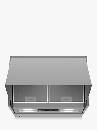 Neff D61MAC1X0B Integrated Cooker Hood, D Energy Rating, Silver