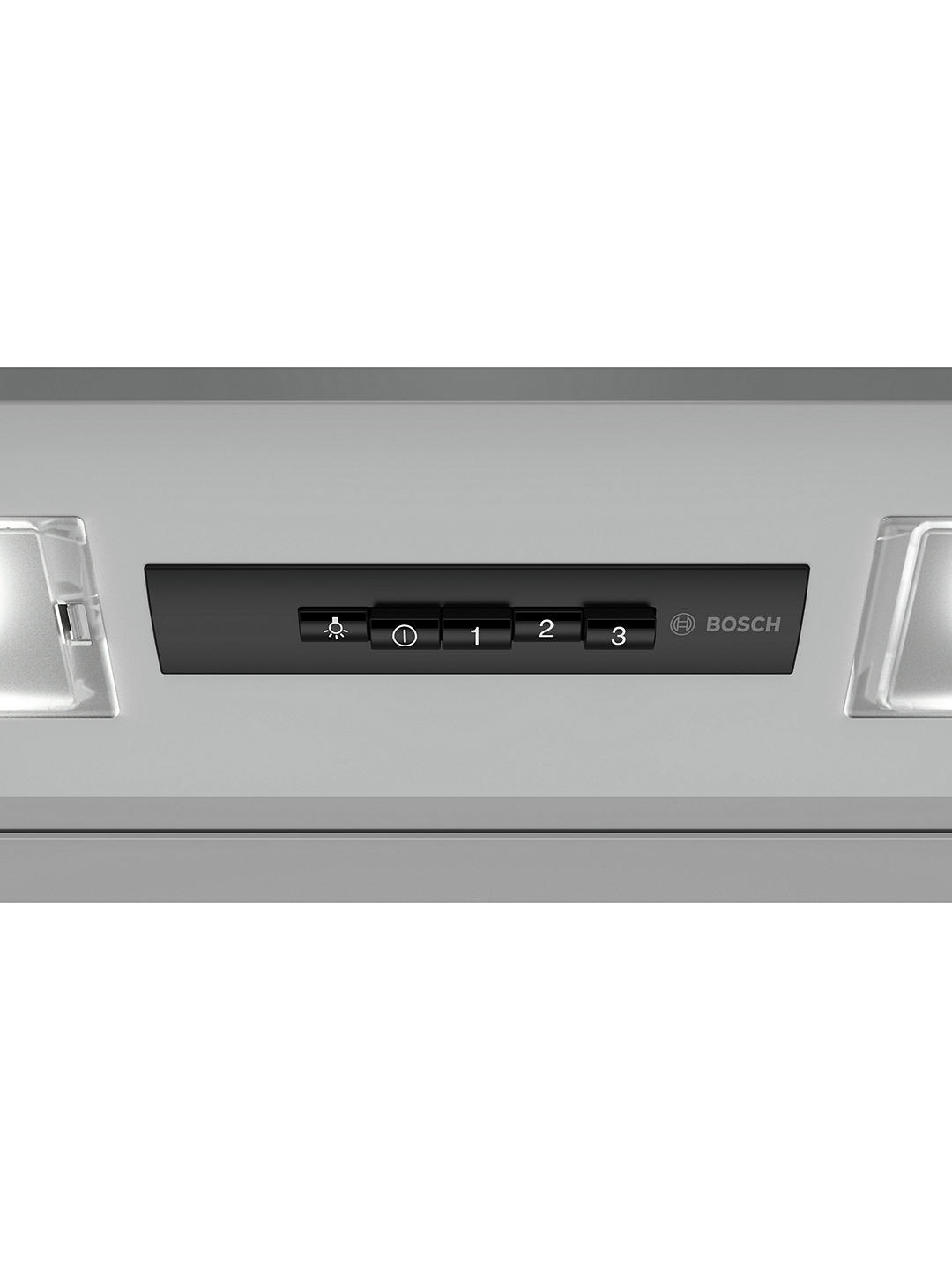 Buy Bosch DEM66AC00B 60cm Integrated Extractor Hood, Silver Online at johnlewis.com