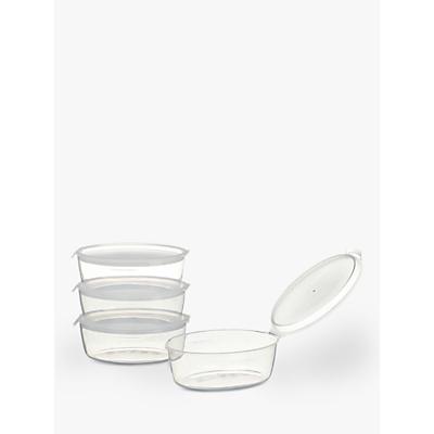 Image of John Lewis & Partners Freezer Pots, Pack of 4, Large