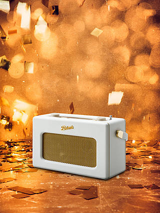 Buy ROBERTS Revival iStream 3 DAB+/FM Internet Smart Radio with Bluetooth, White Online at johnlewis.com