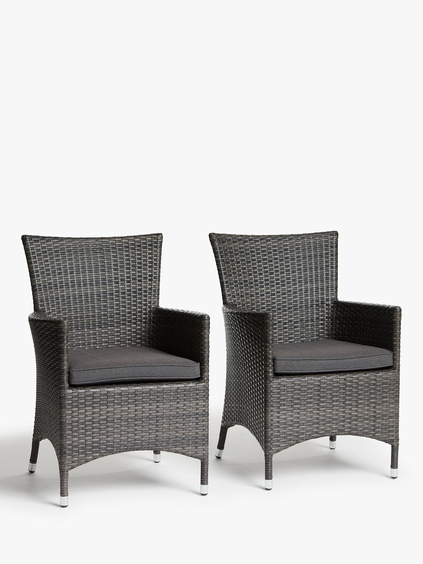 John Lewis Amp Partners Alora Garden Dining Chairs Set Of 2