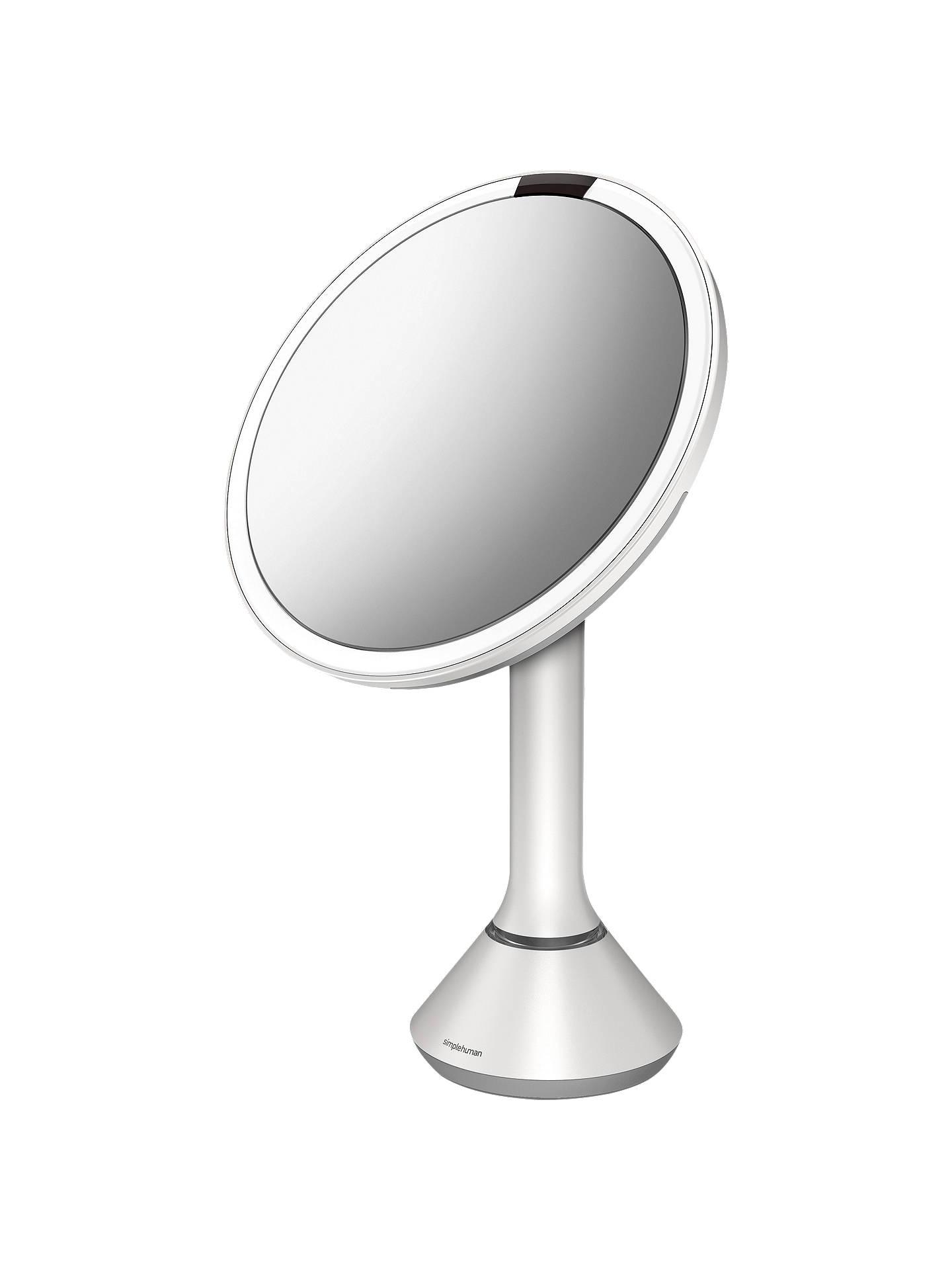 Simplehuman Sensor Illuminated Magnifying Bathroom Mirror