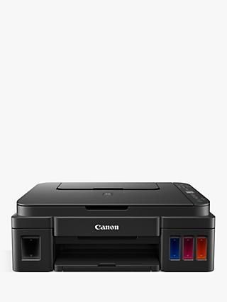 Canon PIXMA G3501 Three-in-One Wireless Wi-Fi Printer, Black