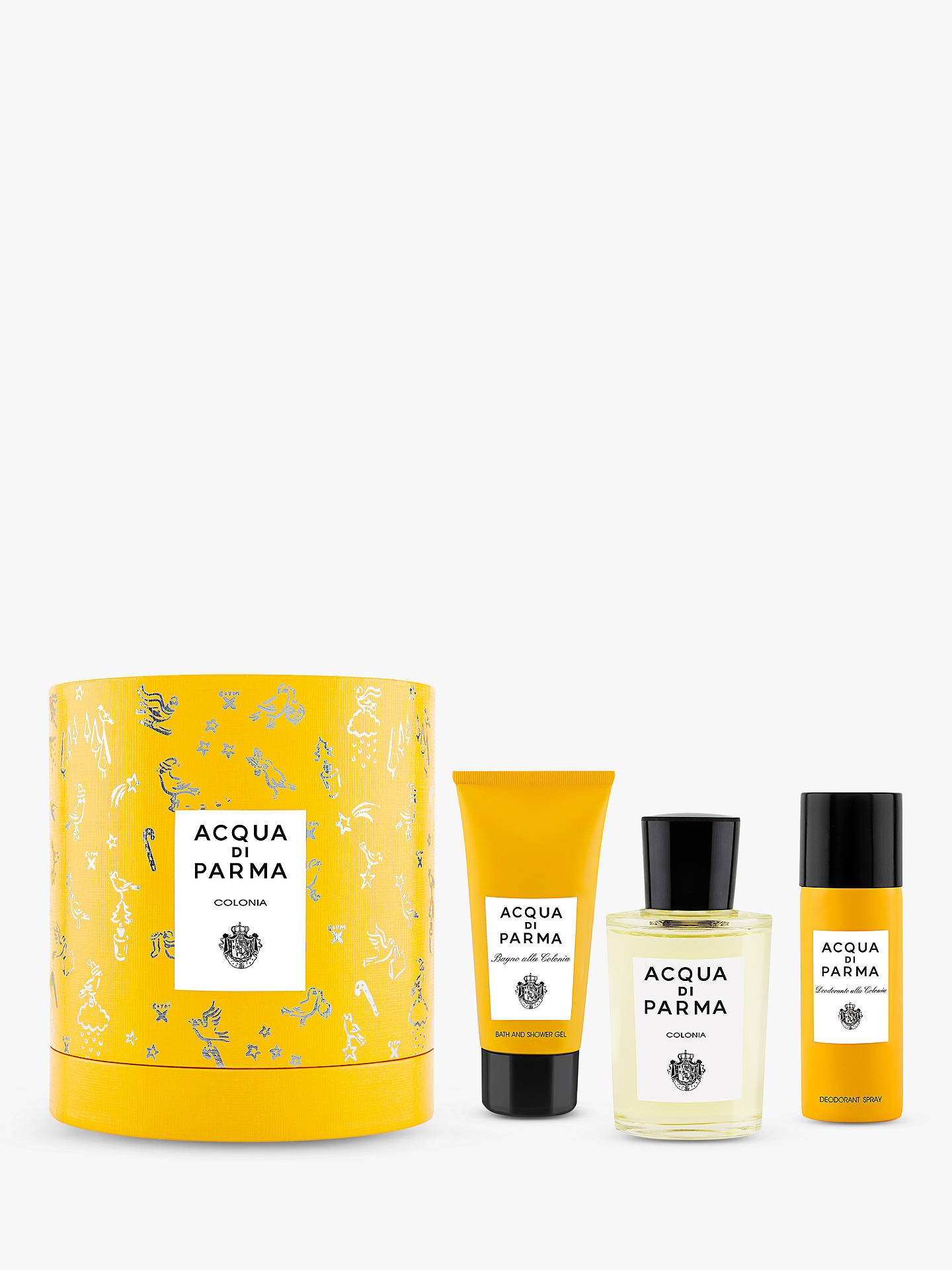 BuyAcqua di Parma Colonia 100ml Eau de Cologne Fragrance Gift Set Online at johnlewis.com