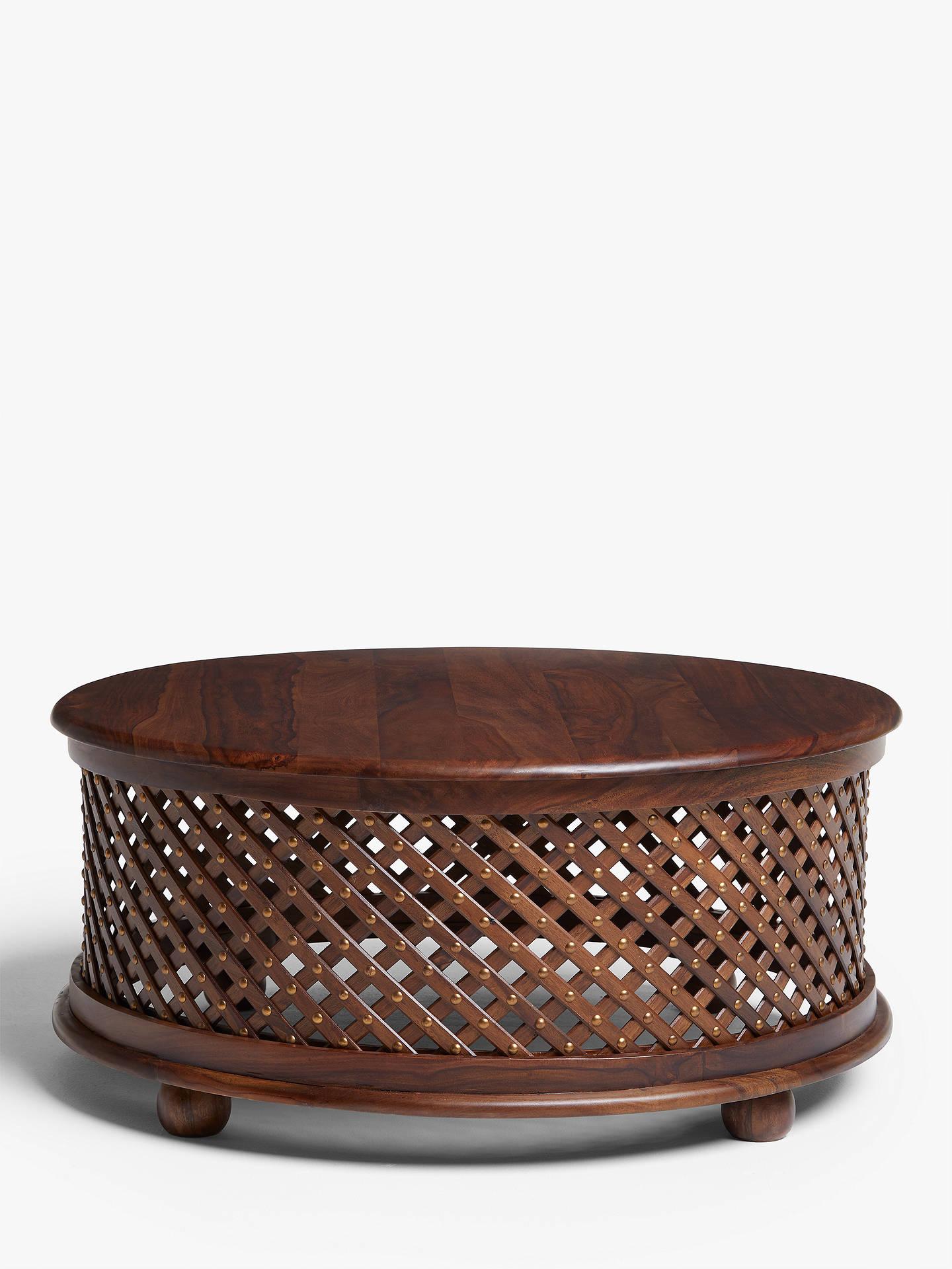 b24851ef645 Buy John Lewis   Partners Maharani Drum Coffee Table