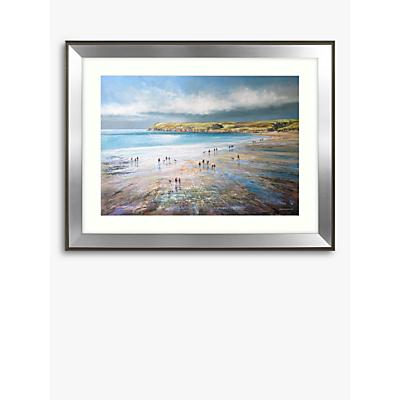 Image of Michael Sanders - Polzeath Beath, Framed Print & Mount, 70.5 x 90.5cm