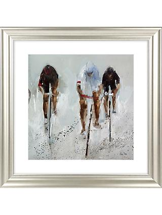 Nicole Pletts - Racing By Detail I Framed Print & Mount, 69 x 69cm
