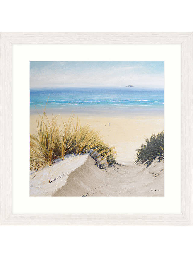 Buy Caroline Atkinson - Pathway Through The Dunes II Framed Print & Mount, 65 x 65cm Online at johnlewis.com