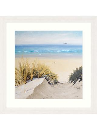 Caroline Atkinson - Pathway Through The Dunes II Framed Print & Mount, 65 x 65cm