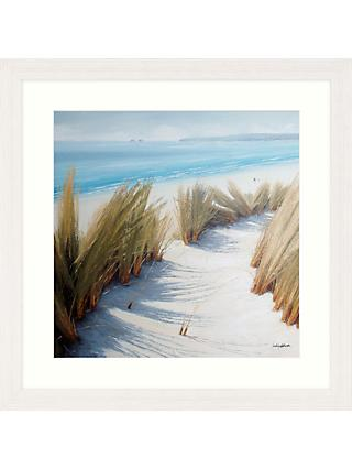Caroline Atkinson - Pathway Through The Dunes I Framed Print & Mount, 65 x 65cm