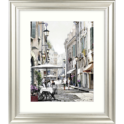 Image of Richard Macneil - City Street I Framed Print & Mount, 66 x 56cm