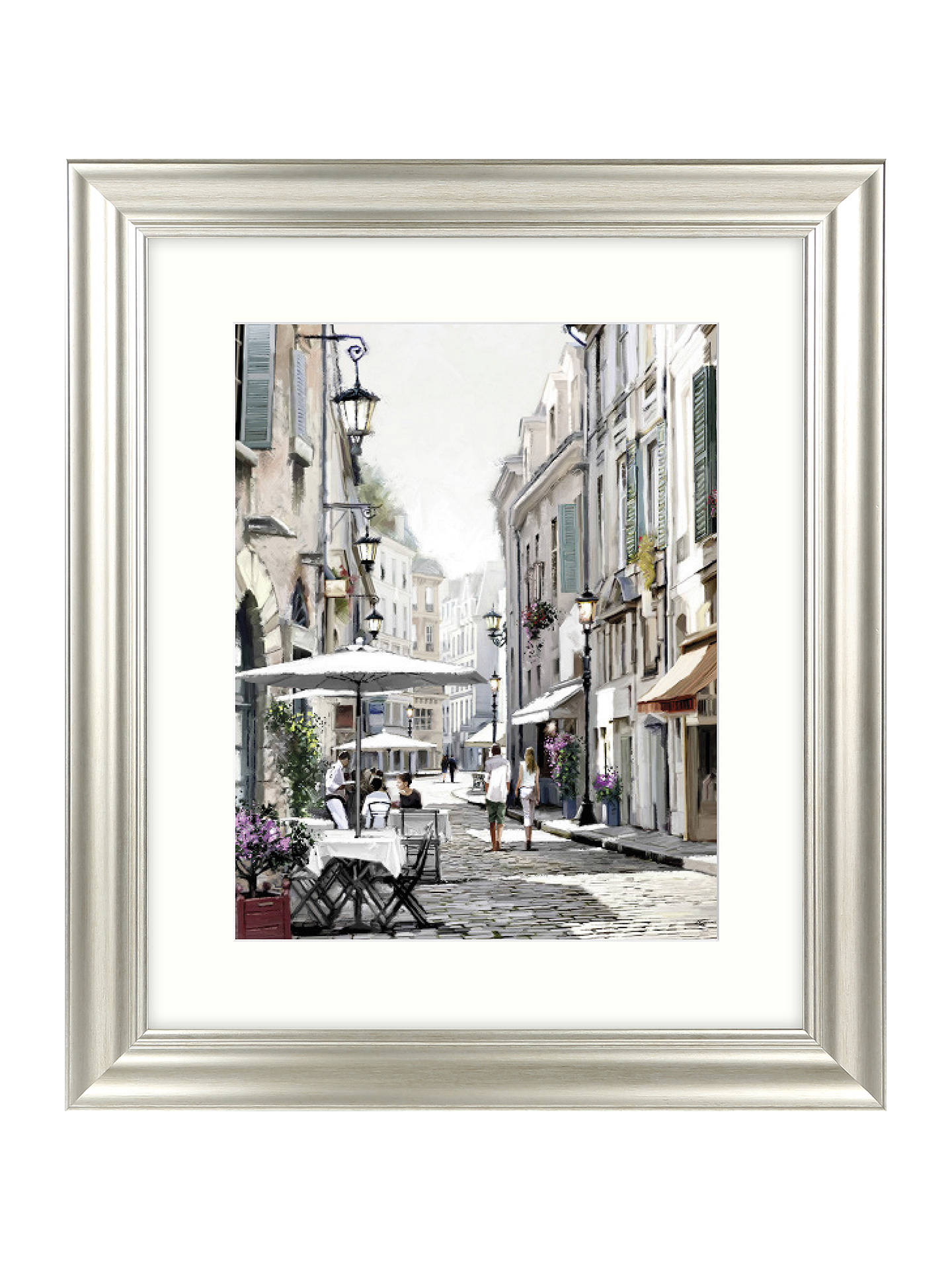 Buy Richard Macneil - City Street I Framed Print & Mount, 71 x 61cm Online at johnlewis.com