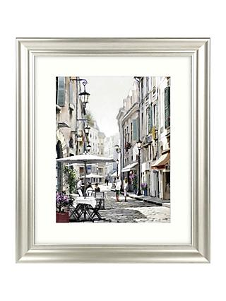 Richard Macneil - City Street I Framed Print & Mount, 66 x 56cm