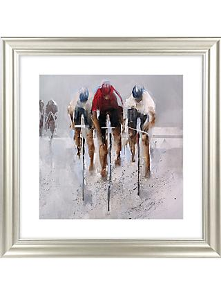 Nicole Pletts - Racing By Detail II Framed Print & Mount, 69 x 69cm