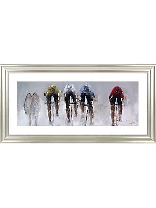 Nicole Pletts - Road Race Framed Print & Mount, 56 x 111cm