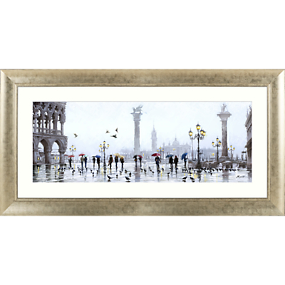 Image of Richard Macneil - San Marco Reflection Framed Print & Mount, 62 x 128cm